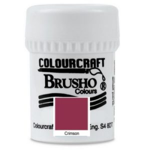 Brusho Colours Crimson