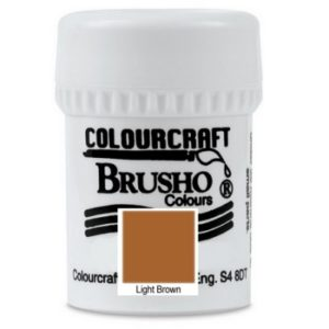 Brusho Colours Light Brown