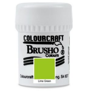 Brusho Colours Lime Green