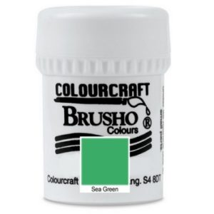 Brusho Colours Sea Green