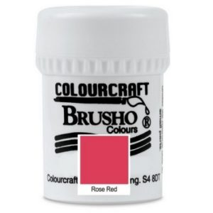 Brusho Colours Rose Red