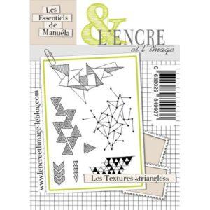 L'Encre et L'Image Les Textures Triangles