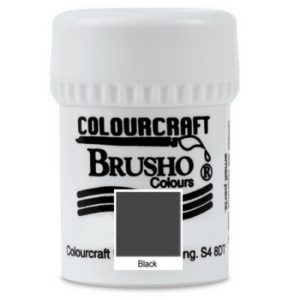 Brusho Colours Black