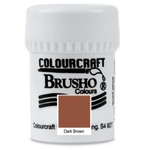 Brusho Colours Dark Brown