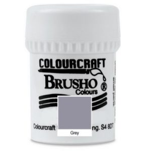Brusho Colours Grey