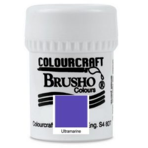 Brusho Colours Ultramarine