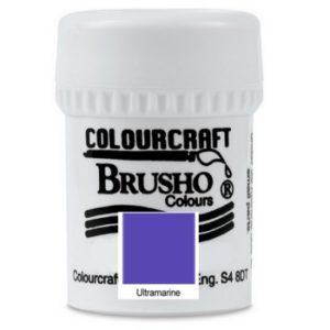 Brusho Colours Ultramarine
