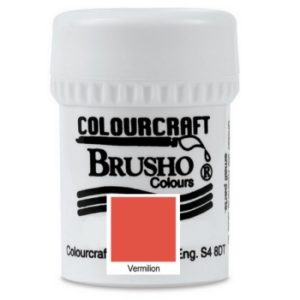 Brusho Colours Vermilion