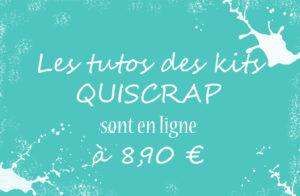 Les Tutos des kits sont maintenant disponible en ligne au prix de 8,90 euros