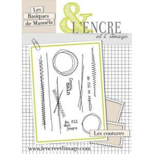 Tampons L'Encre et L'Image «Les Coutures»