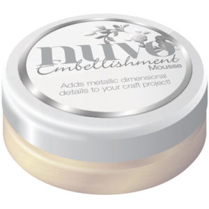 Nuvo Embellishment Mousse Mother of Pearl