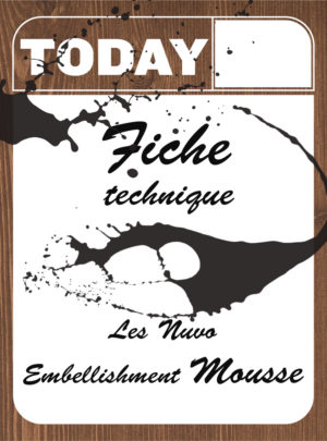Les Nuvo Embellishment Mousse