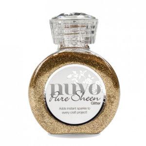 Nuvo Pure Sheen Glitter Gold