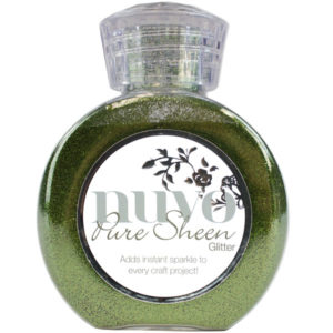 Nuvo Pure Sheen Glitter Olive Green