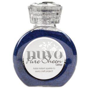 Nuvo Pure Sheen Glitter Saphire Blue