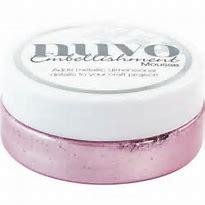 Nuvo Embellishment Mousse Lilac Lavender