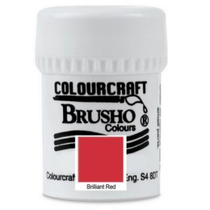 Brusho Brilliant Red