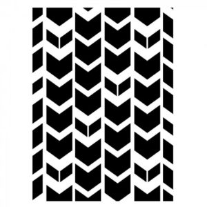 Classeur d'Embossage Chevron de Tribal