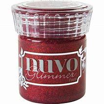 Nuvo Glimmer Paste «Garnet Red»