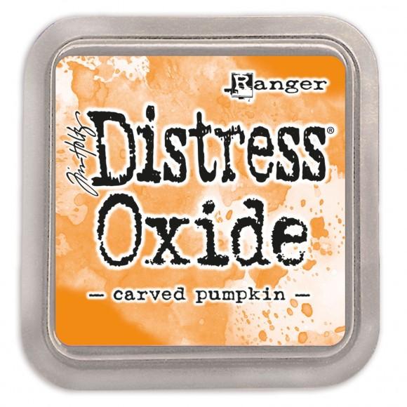 oxide carved pumpkin