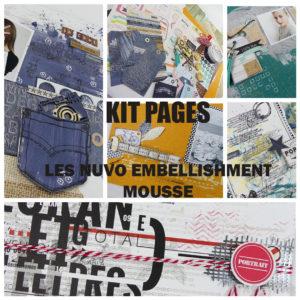 Mieux vaut tard que jamais…Voici le nouveau Kit Pages…