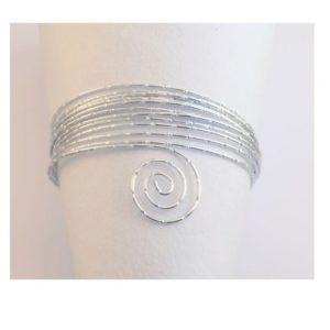 Fil Aluminium 2mm 3mètres Argent avec diamants