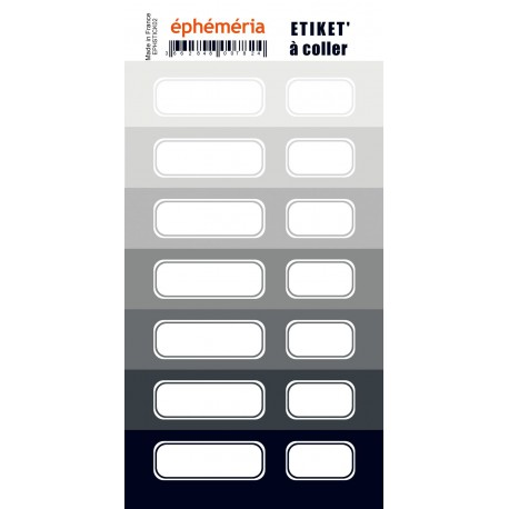 stickers ephemeria nuances de gris