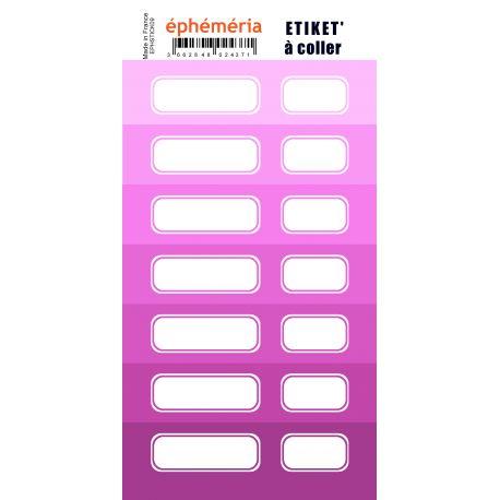 stickers ephemeria nuances de violet