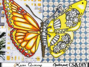 Le deuxième défi du mois de juin du blog CS&Diy: un combo estival…