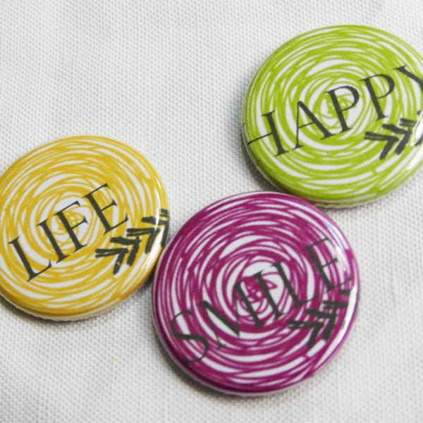 badges spirales