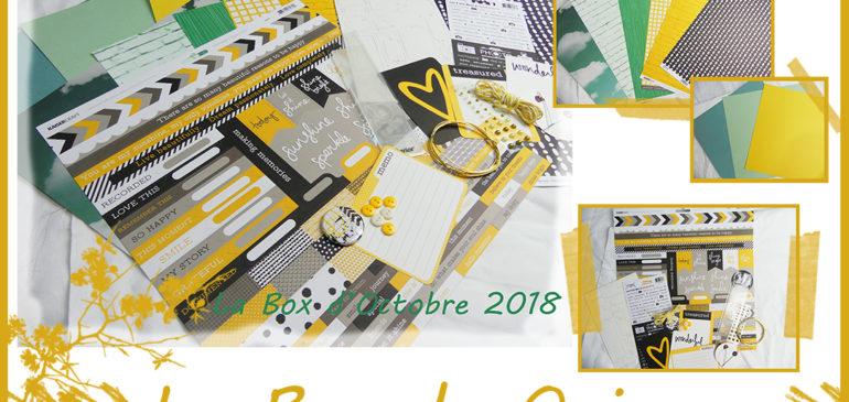 La Box de Quiscrap: Octobre 2018