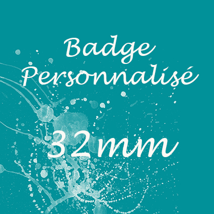 logo badge personnalise