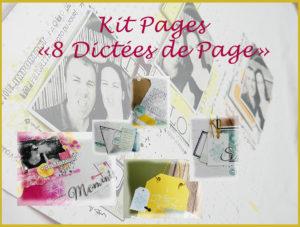 Un nouveau kit Pages voit le jour chez Quiscrap