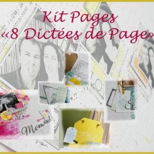 Kit Pages «8 Dictées de Page»