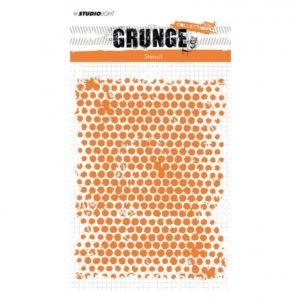 Pochoir Papier bulle Grunge Studio Light