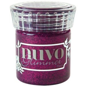 Nuvo Glimmer Paste Plum Spinel
