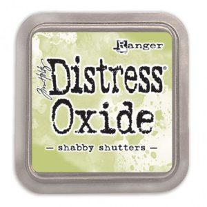 Distress Oxide Shabby Shutters