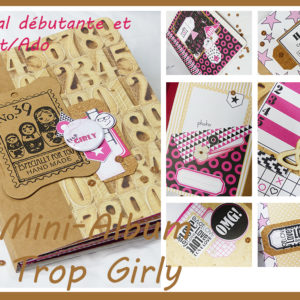 Kit Mini-Album « Trop Girly »