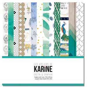 Collection Green & Graphik Les Ateliers de Karine