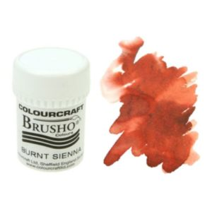 Brusho Colours Burnt Sienna