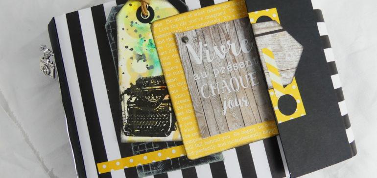 Le Kit Mini-Album «Vivre au Présent chaque Jour» est maintenant disponible sur Quiscrap