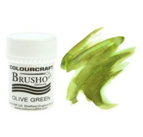 Brusho Colours Olive Green