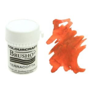 Brusho Colours Terracotta