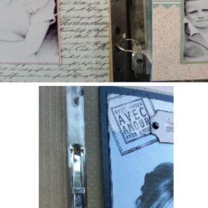 Sachet de 10 bandes d'attaches transparentes perforées Lilly Pot'Colle