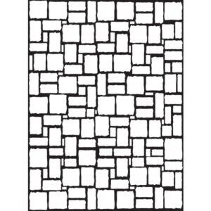 Classeur d'embossage Mur de briques enchevetrées