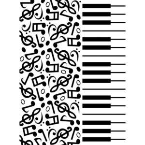 Classeur d'embossage Piano