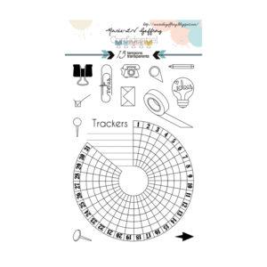 Planche de tampons «Confidentiel» n°1 de Marie-LN Geffray