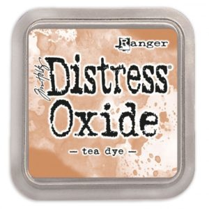 Distress Oxide Tea Dye