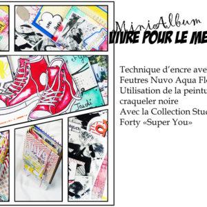 Kit Mini-Album «Vivre pour le Meilleur»