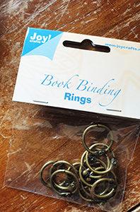 Lot de 12 anneaux Bronze 25 mm